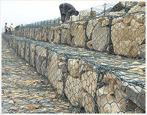 格宾网挡土墙